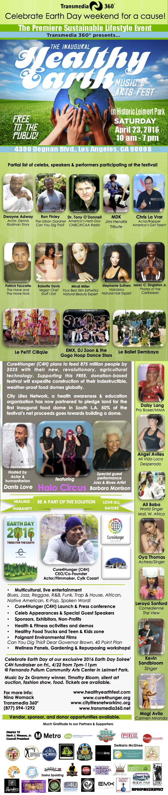 Healthy Earth Arts and Music Festival